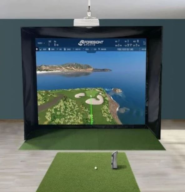 foresight sports gcquad swingbay package