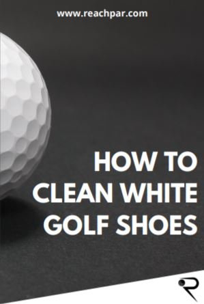 how to clean white golf shoes main image