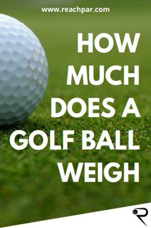 How Much Does A Golf Ball Weigh On Average & What Is The Maximum Weight?